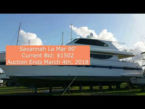 Damaged boats up for current auction