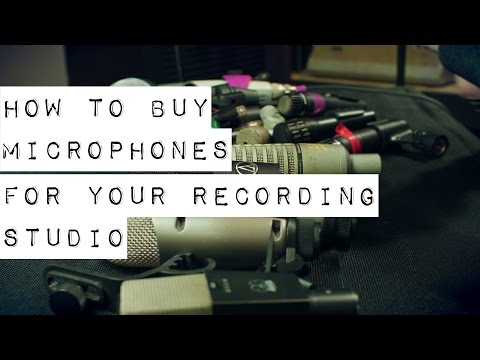 How to Buy Microphones for Your Recording Studio
