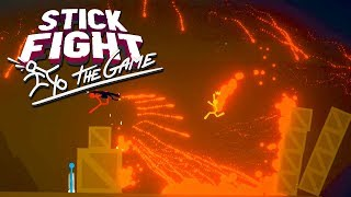 FLAMETHROWERS!  (Stick Fight: The Game!)