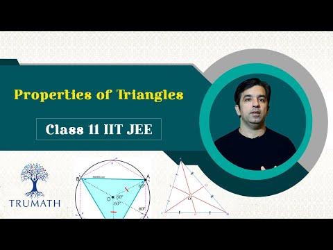 properties-of-triangles:-jee-mains-2020- -class-11-maths- -trumath
