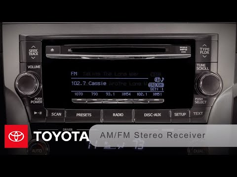 2011-2012 Avalon How-To: Standard And JBL Synthesis® Audio Without Navigation | Toyota