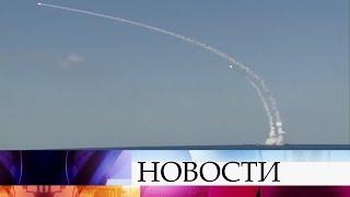 Российский флот нанес новый удар попозициям террористов вСирии.