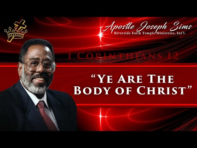 Audio Sermon - Ye Are The Body of Christ - 1 Corinthians 12:27; Habakkuk 2; Philippians 2:5-8
