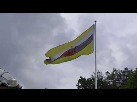 Bandar Seri Begawan, Brunei - Brunei Flag HD (2015)
