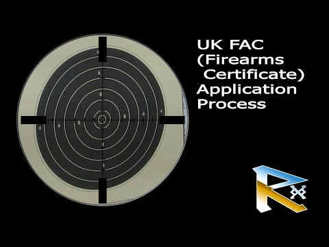 The UK FAC Firearms Certificate Application Proccess