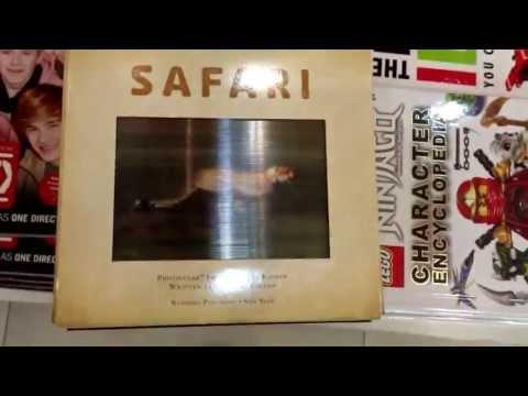 หนังสือภาพเคลื่อไหว Safari.ที่ Asia Book
