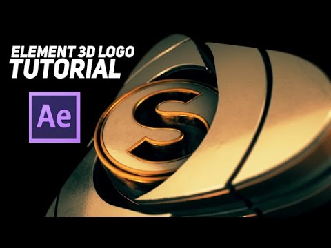 Tutorial | After Effects & Element 3D Epic Logo Animation | - YouTube