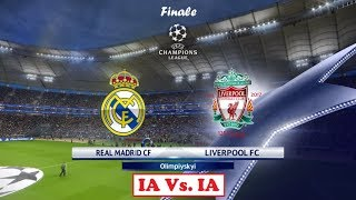 Real Madrid* - Liverpool [PES 2018] | UEFA Champions League 2017-18 (Finale) | IA Vs. IA