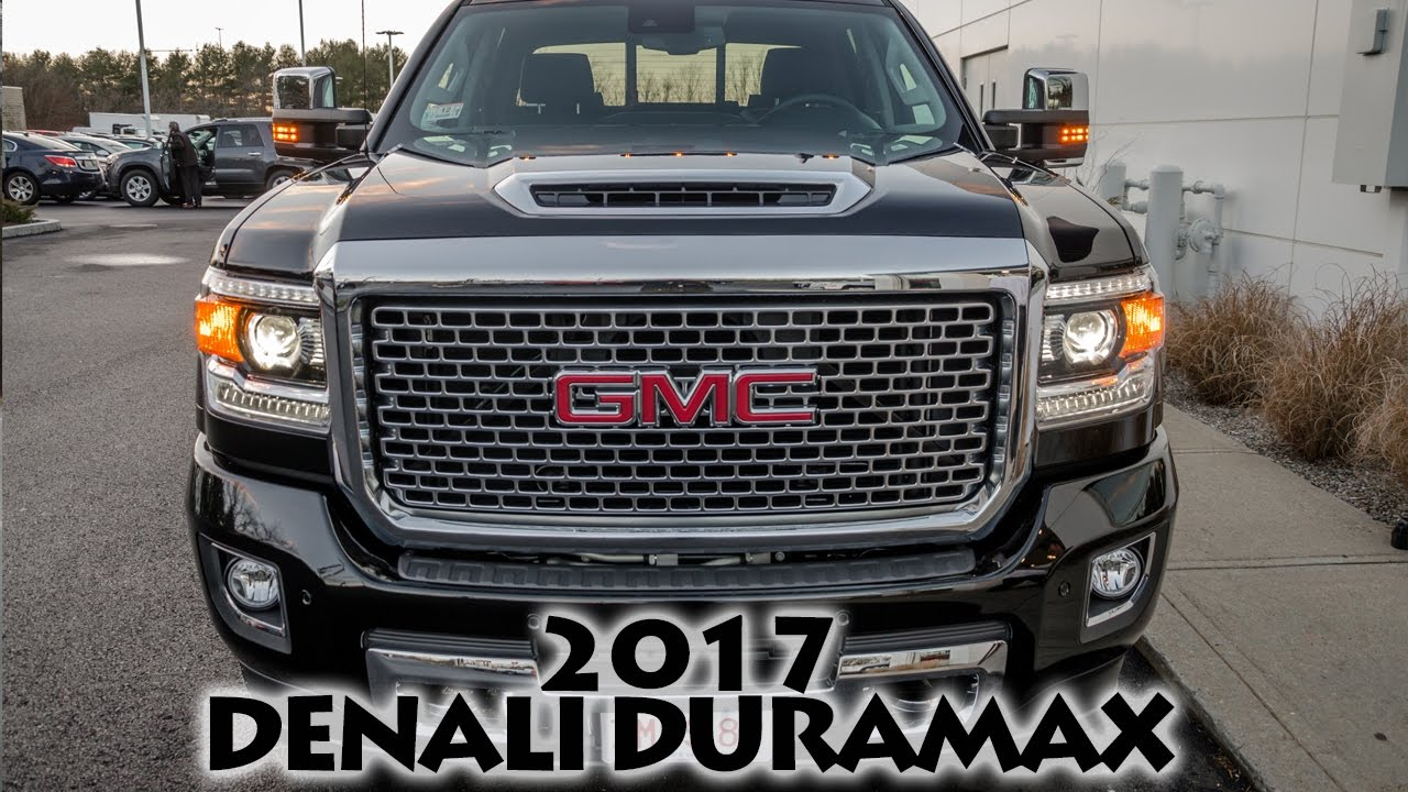 2017 Sierra Denali 2500hd Duramax Sel First Look