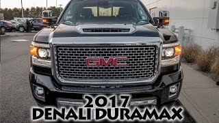 2017 Sierra Denali 2500HD Duramax Diesel - First Look!