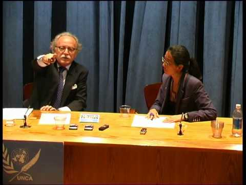 IARA LEE at The UN on  Mavi Marmara Part 1.wmv