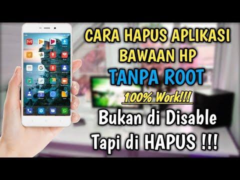 Cara Menghapus Aplikasi Bawaan Android Tanpa Root 100%Work / Cara Hapus Aplikasi Bloatware Android
