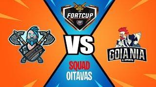 FORTCUP #2 - OITAVAS - THE GHOST TEAM Vs GOIANIA E-SPORTS