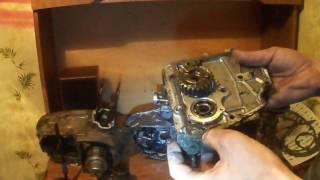 1 серія Ремонт двигуна мотоцикла мінськ з чого почати і ремонт коробки передач(КПП)
