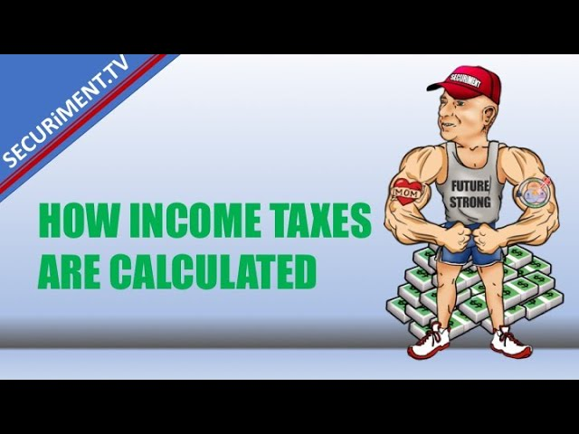How are Taxes Calculated With and Without a Roth Conversion