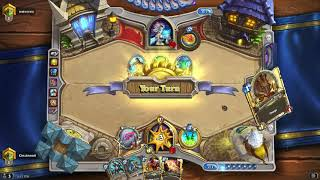 Hearthstone: Quest Rogue vs. Elemental Mage (Catalog: September 2018)