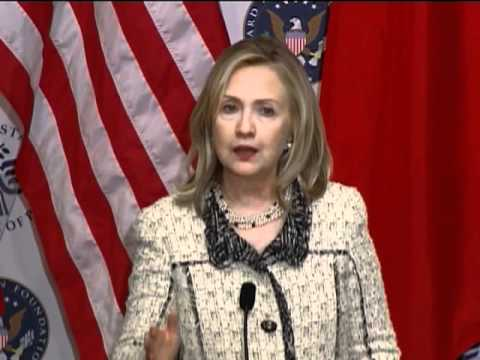 Secretary Clinton Delivers Remarks on China at the U.S. Institute of Peace