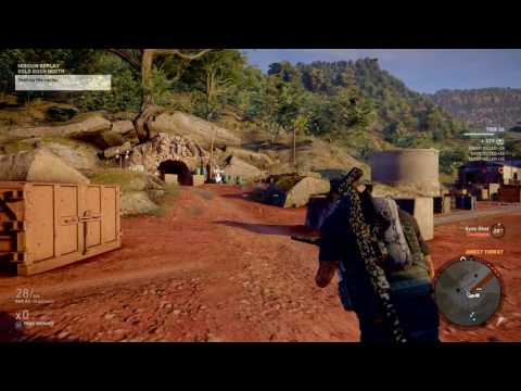 Ghost Recon® Wildlands TIER1 easy missions on extreme GOLD RUSH NORTH |