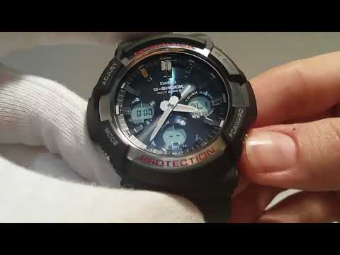 03bed473194 Casio G-Shock GAW-100-1AER manual 5444 - YouTube