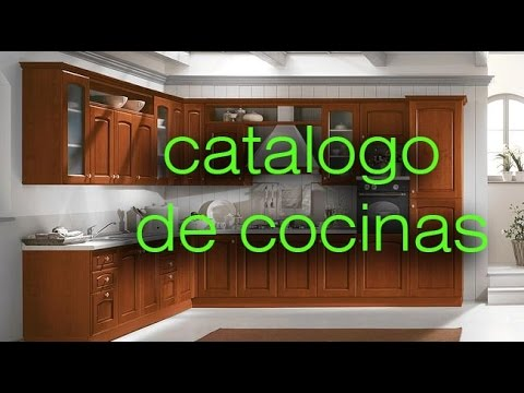 catalogo de muebles de cocina - kitchen design - YouTube