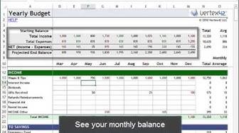 Money Management in Excel