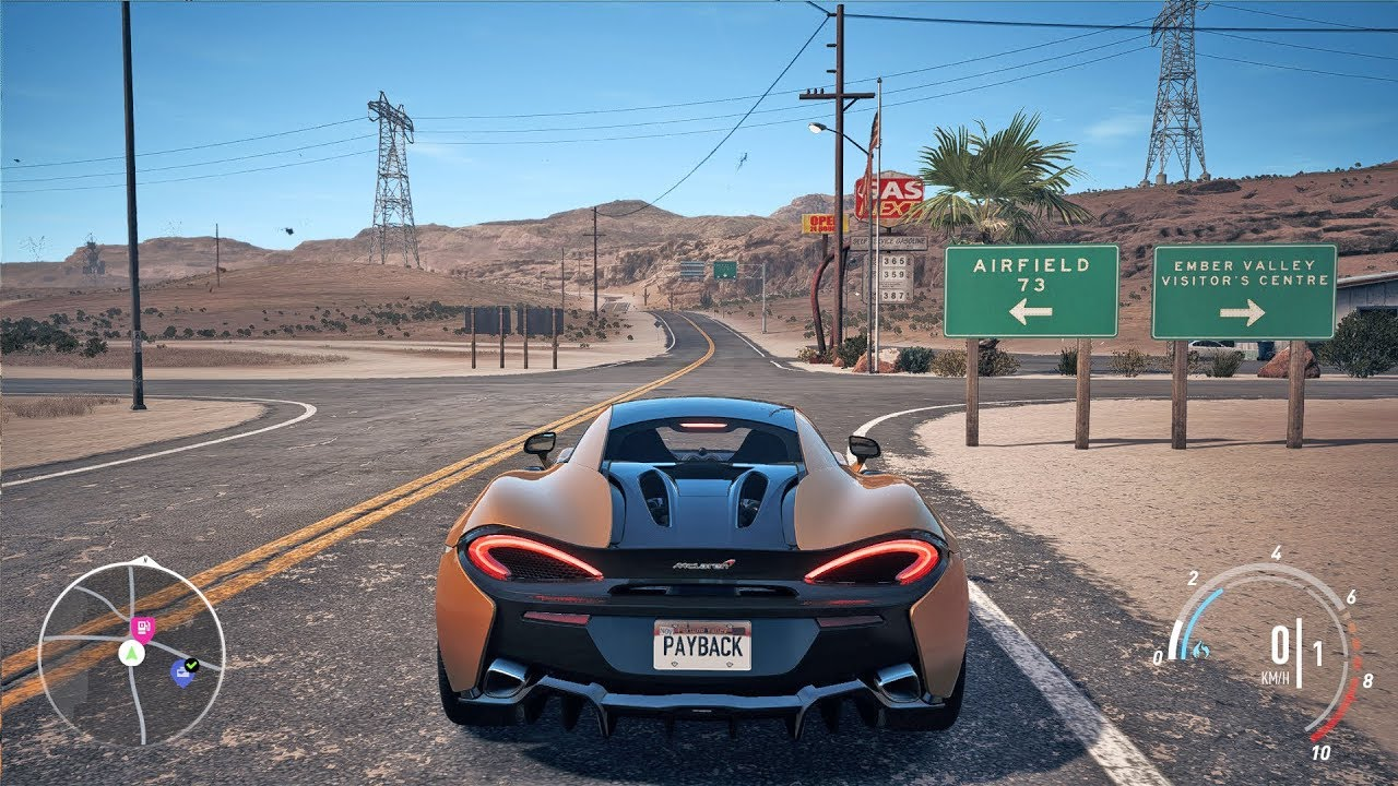 need for speed payback mclaren 570s coupe open world free roam gameplay pc hd 1080p60fps. Black Bedroom Furniture Sets. Home Design Ideas