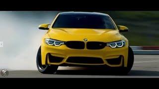 Zamil Zamil Yellow BMW Car Drift Video!!
