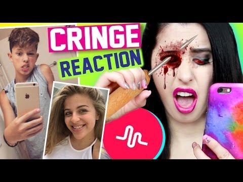 Reacting To Cringey Kid Musical.lys | Naughty Teens & Weird Kids *CRINGE WARNING*
