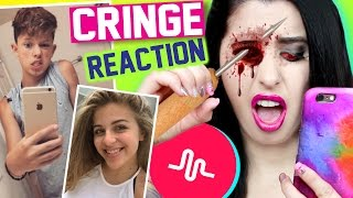reacting to cringey kid musical lys   naughty teens weird kids cringe warning