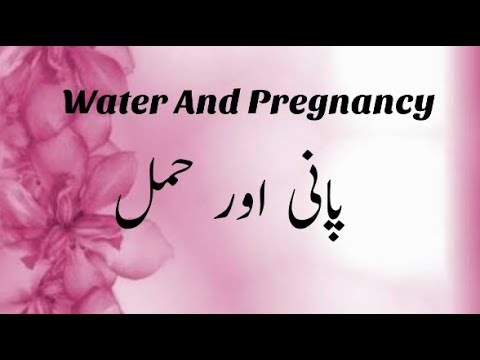 Water And Pregnancy||Importance Of Drinking Water During Pregnancy||Dehydration During Pregnancy