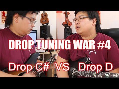 Drop Tuning War #4 : Drop D VS Drop C#