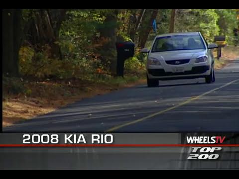 2008 Kia Rio Test Drive