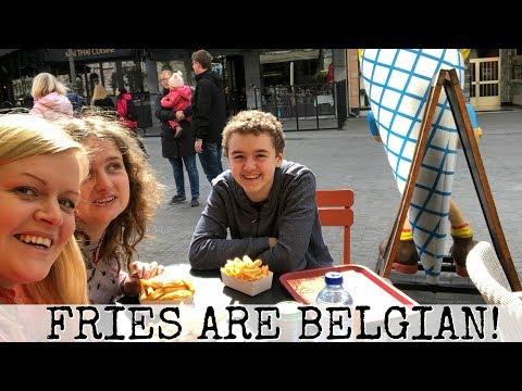 🍟 Belgian Fries NOT French Fries in Antwerp, Belgium 🇧🇪