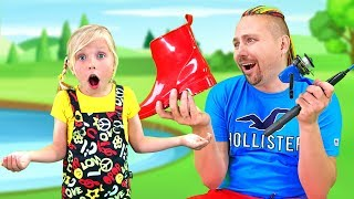 Little girl and Dad have a funny playdate / New series