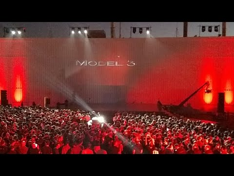 🔴LIVE: THE MODEL 3 EVENT