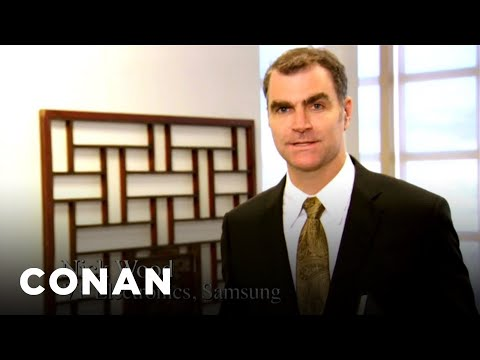 Samsung Calls BS On Apple's Charges Of Copying - CONAN on TBS