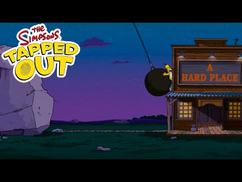 The Simpsons: Tapped Out - Rock and a Hard Place