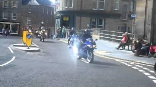 Hizzy Motocade thru Hawick 2010