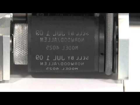 Allen 40/25c Hot Foil Coder