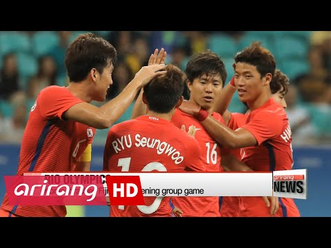 NEWSLINE AT NOON 12:00 Rio 2016: S. Korea wins first group football match against Fiji