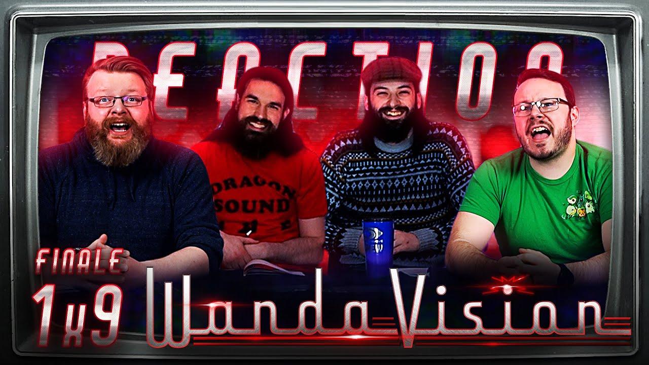 "WandaVision 1x9 FINALE REACTION!! ""The Series Finale"""
