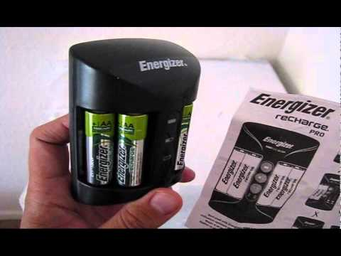 Energizer Recharge Pro Charger Youtube