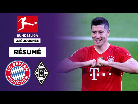 Résumé : Le Bayern fête son titre en explosant le Borussia M'Gladbach 6-0 !