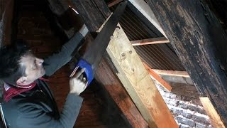 Repairing an old roof 2