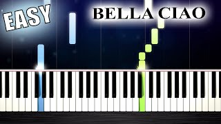 Bella Ciao - EASY Piano Tutorial by PlutaX