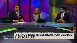 Legalmente, Margarita está muy lejos de estar en la boleta: Roberto Duque