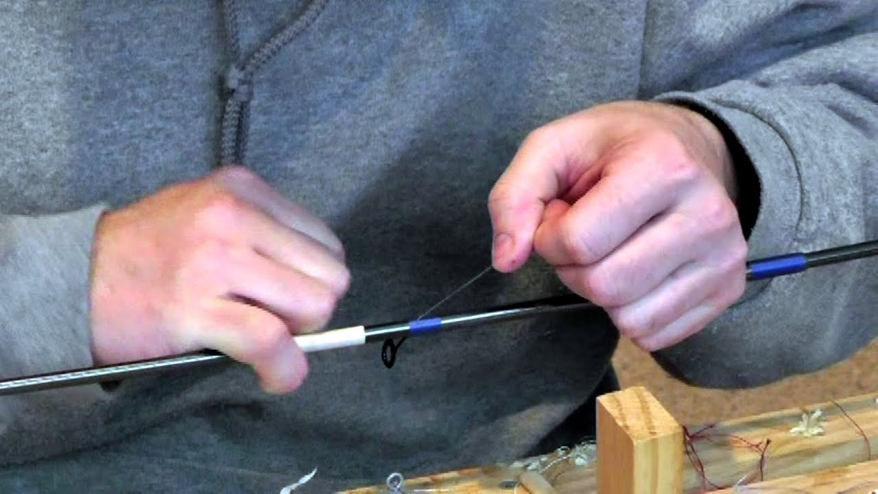 Fishing Rod Building: Guide Wrapping Basics