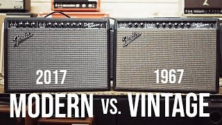 Does 50 Years Make A Difference? || Vintage Fender Deluxe vs Reissue