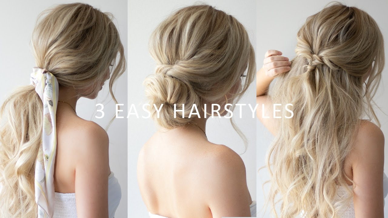 3 Easy Festival Hairstyles 2018