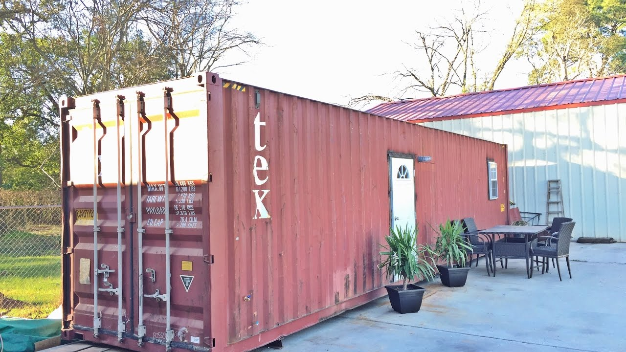 Container House In Texas For Sale Youtube